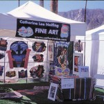 Catherine's booth at the La Quinta