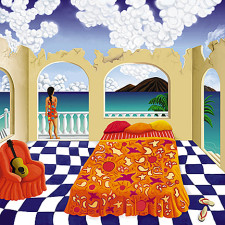 Indian Bedspread - Catherine Lee Neifing