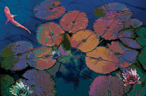 Lily Pads & Koi - Catherine Lee Neifing