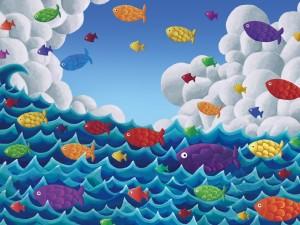 Fish Above & Below